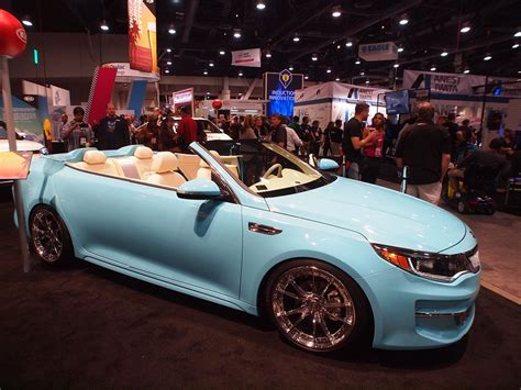 kia convertible sema draws to a close for 2015 thedetroitbureau com