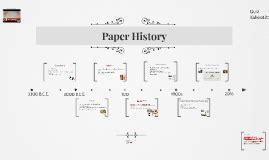 Origami History Timeline - the history of paper timeline project by xinyu kang on prezi