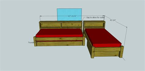 twin bed headboard plans woodworking simple design looking for free twin bed frame