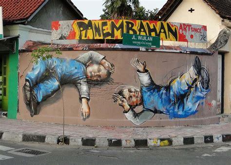 fintan magee  murals  indonesia streetartnews