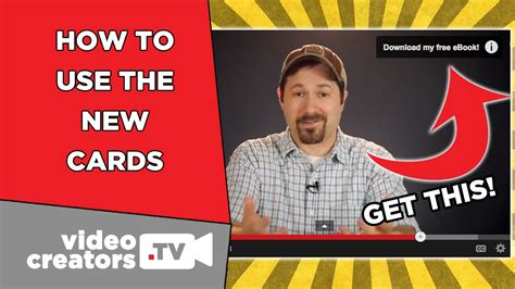 Youtube Gift Card - how to setup the new youtube cards bye annotations youtube