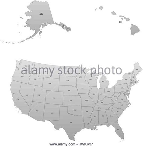 united states map alaska hawaii united states map alaska and hawaii stock photos united