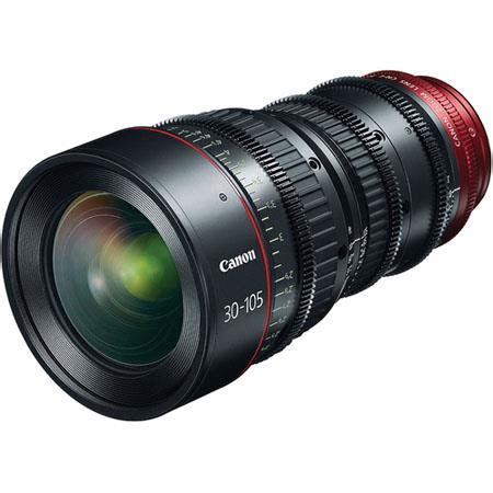canon cn e30 105mm t2.8 l sp telephoto cinema zoom lens