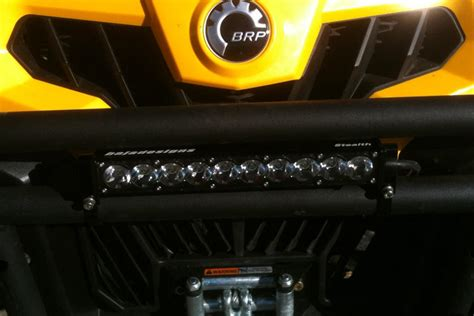 can am commander led light bar can am commander 1000 review and stage one buildup utv guide