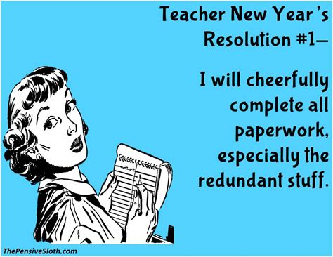 new year resolution for teachers new year s resolutions version 2016 the pensive