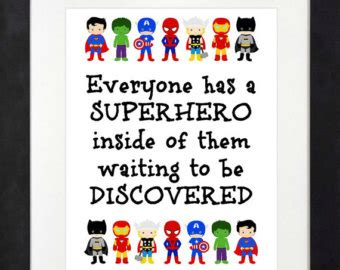 printable superhero quotes superhero quotes etsy