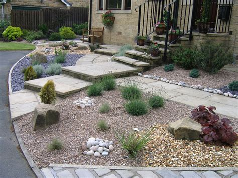 Landscape Ideas Gravel Low Maintenance Garden Ideas Gravel Gardens Garden