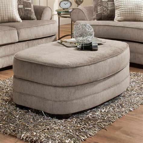 simmons upholstery br oval ottoman royal furniture ottomans