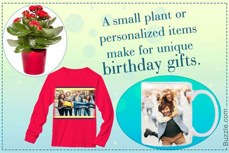unique birthday gift ideas that no one ever told you