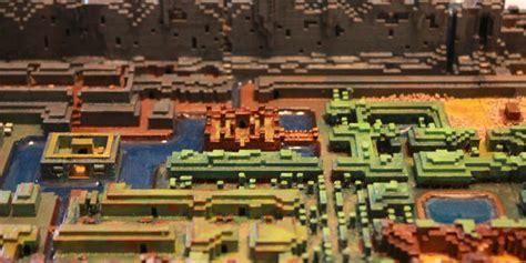 legend of zelda custom map minecraft this 3d printed map from the original legend of zelda was