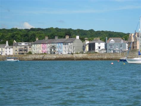 sea fishing boat trips anglesey view of beaumaris from the boat picture of starida