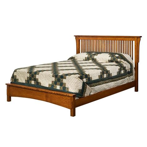 Low Footboard Bed Borkholder 13 1501clf Bungalow Spindle Bed With Low