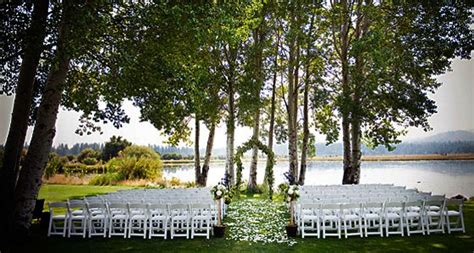 Wedding Venues Oregon by Oregon Wedding Venues Oregon Outdoor Wedding Reception