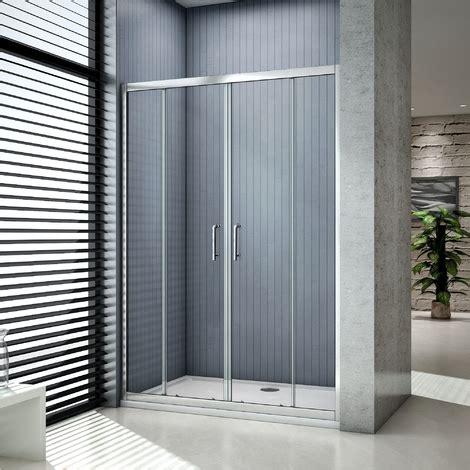 vasche da bagno doppie box doccia per nicchia doppie porte scorrevoli da bagno