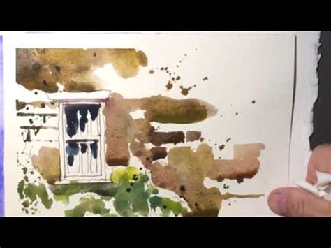 quick & fun watercolor painting's  by chris petri youtube