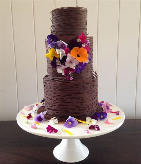 Serve Wedding Cake And by Delicious Ways To Serve Chocolate Wedding Cake Easy Weddings