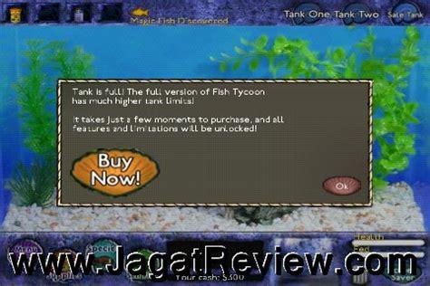 Makanan Ikan Hias Layar review android app fish tycoon simulasi memelihara ikan