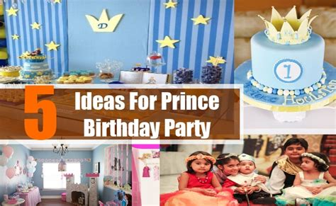 ideas for ideas for prince birthday how to plan host