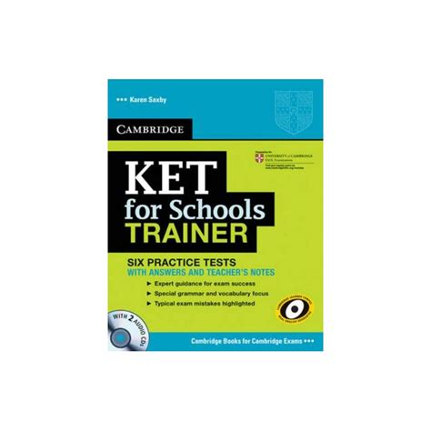 libro ket for schools trainer cambridge ket for schools trainer with answers and teacher s notes cds espiral libros