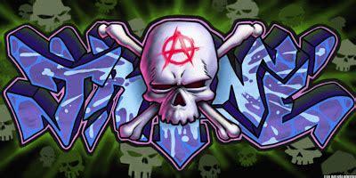 trend graffiti mural graffiti character skull