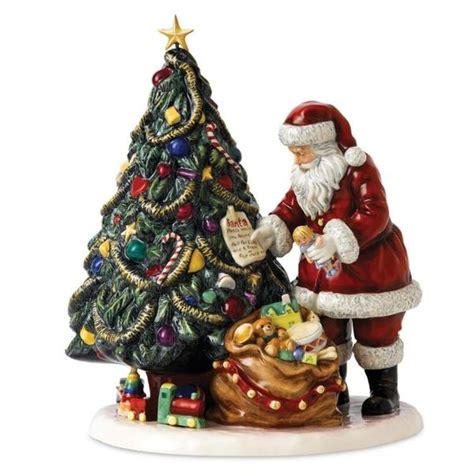 annual royal doulton father christmas figurine