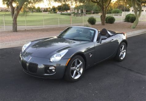 auto air conditioning service 2007 pontiac solstice spare parts catalogs no reserve 13k mile 2009 pontiac solstice gxp for sale on bat auctions sold for 14 865 on
