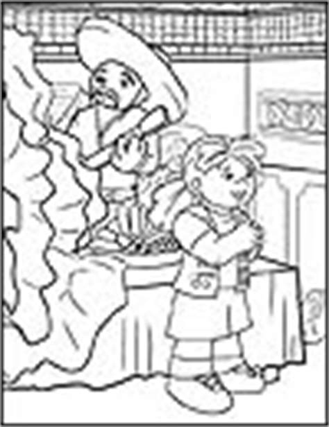 mexican girl coloring page mexican fiesta crafts for cinco de mayo