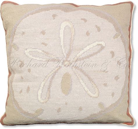 Sand Dollar Pillows by Sand Dollar Nautical Pillow
