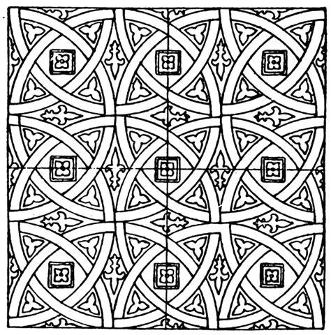 pattern art circle medieval tile circle pattern clipart etc