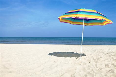 imagenes hd vacaciones 191 c 243 mo colocar la sombrilla en la playa vix