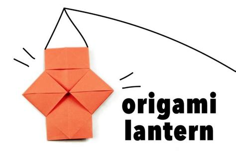 How To Make A Origami Lantern - 17 best ideas about origami lantern on diy