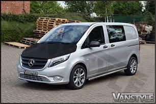 Interior Plain Mercedes Vito V Klasse W447 2014 Plain Bonnet Bra Vanstyle