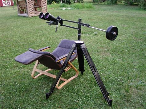 diy tripod c chair how do you mount your big binoculars page 2