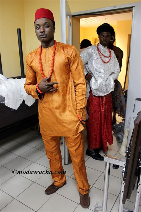 igbo men attire weird african things nigerian clothes