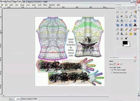 second templates for gimp from gimp to second tutorials how to make tattoos