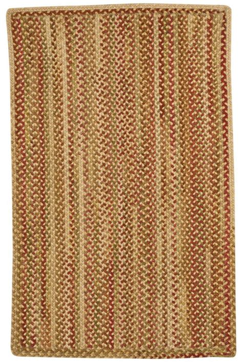 Gold Hues Manchester Braided Rug Cottage Home 174 Rugs Manchester