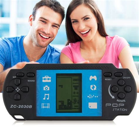 handheld game player classic video tetris game console  psp gaming portable video
