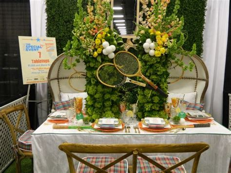 tennis themed events tennis themed tabletop party ideas pinterest the o