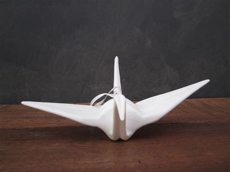 Origami Flying Swan - origami flying crane things i