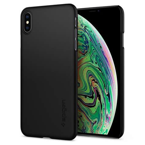 spigen thin fit black for iphone xs max cases protectors mobile phones accessories