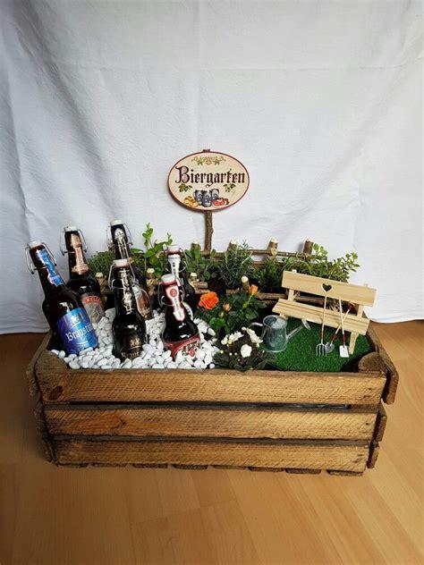 geschenke de biergarten geschenk basteln geschenk