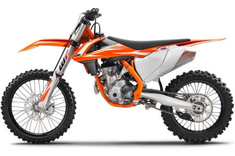 Ktm Sx 250f Ktm Announces 2018 Sx F Motocross Bikes 7 Fast Facts