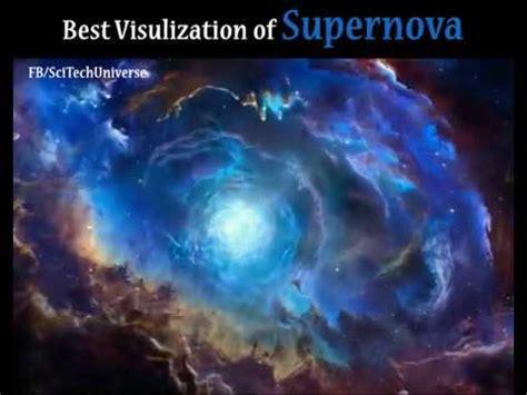 best visualization best visualization of a supernova