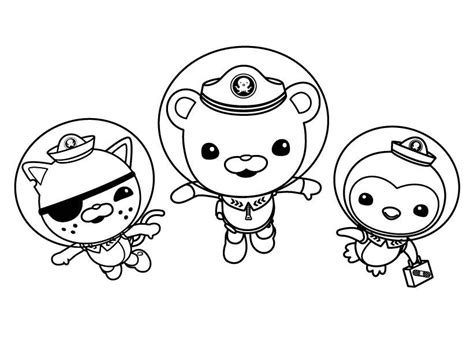 dashi dog coloring page octonauts coloring pages color pages pinterest