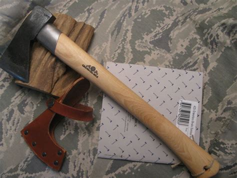 Swedish Handmade Axes - gransfors bruk sweden outdoor axe with collar guard