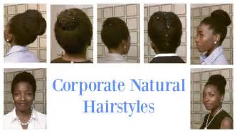 is there a professional length of hair for middle aged women corporate look for short and medium natural hair