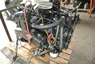 mercruiser 5 0 engine v8 chevy 305 motor complete n