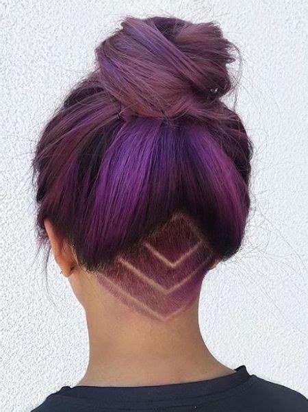 shaved hairstyles shapes for black women best 25 undercut long hair ideas on pinterest
