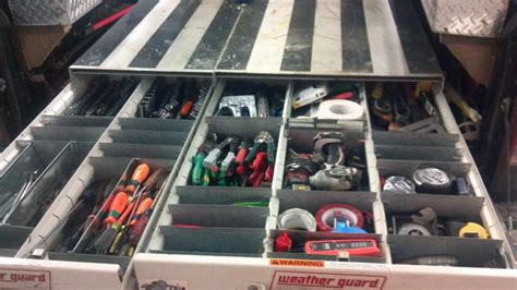 service truck tool storage ideas the organized truck is the organized professional for pros
