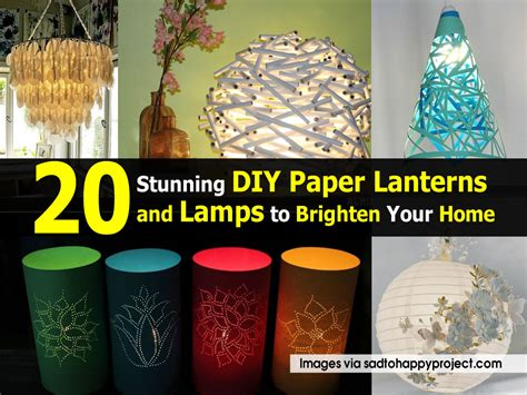 Paper Lanterns At Home - 20 stunning diy paper lanterns and ls to brighten your home